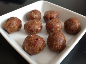 Energy Goji Berry Balls