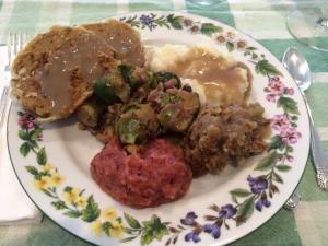 IMAGE 2- A healthy vegan plate
