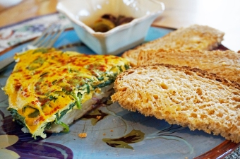 "Potato and Spinach ""Frittata"" 1"