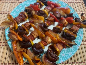 Jazzy Vegetarian Skewers 2